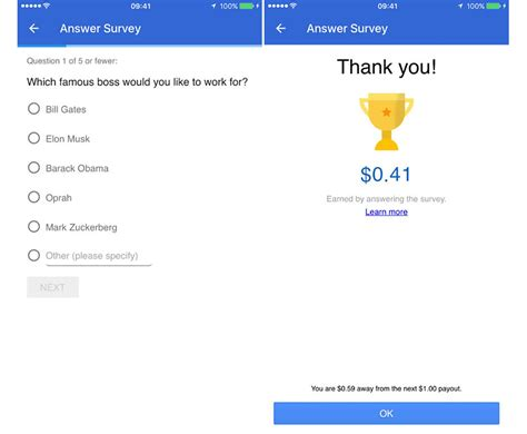 Sites That Pay You To Take Surveys - google opinion rewards arrives on ios will pay you to take surveys phonedog