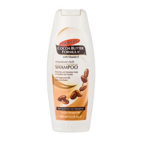 Palmers Cocoa Butter Formula Sulfate Free Wash 400ml palmer s cocoa butter formula moisture rich shoo 400ml feelunique