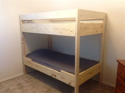 how to build bunk beds diy bunk bed for under 100 youtube