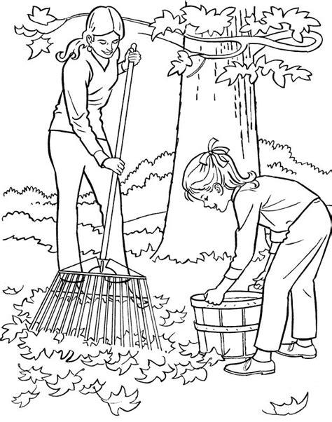 clean house coloring activity coloring page art barriendo el jardin dibujalia dibujos para colorear