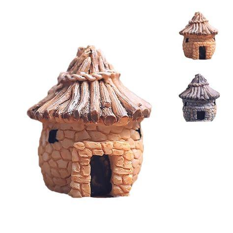fashion crafts for 1pcs fashion resin crafts retro house design brick houses