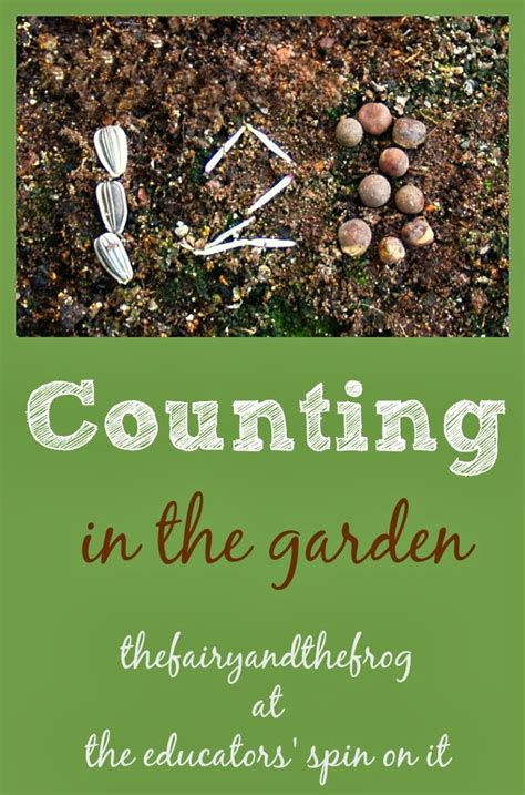 Garden Of Number Garden Math Counting And Number Sense The Educators
