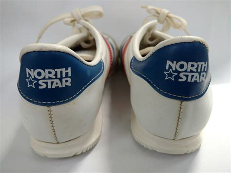 retro vintage northstar running shoes sneakers size  red
