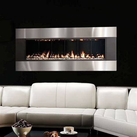 Wall Propane Fireplace by Solas Forty6 Wall Mount Propane Fireplace Atlantic