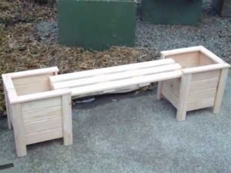 planter boxes  bench youtube