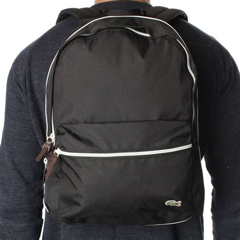 Backpack Lacoste lacoste nf0661 backpack lacoste from the menswear site uk