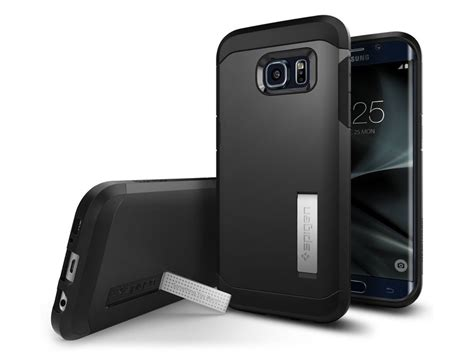 Spigen Tough Armor Samsung Galaxy S7 Edge Original Gunmetal spigen tough armor samsung galaxy s7 edge hoesje