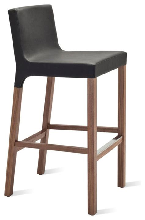 blu dot bar stool blu dot knicker barstool black modern bar stools and