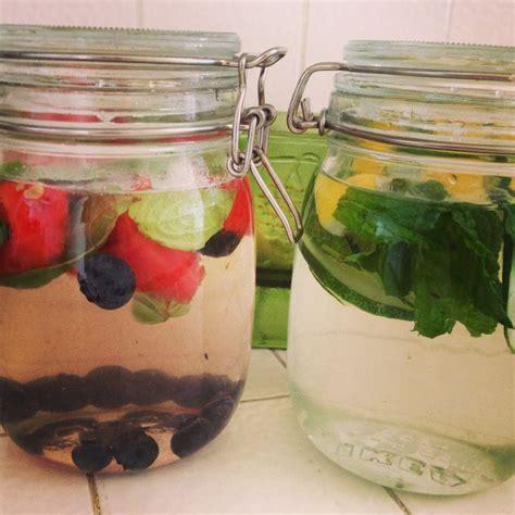 Detox With Lemon Basil by Detox Water Watermelon Basil Blueberries Lemon Mint