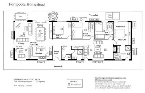 homestead house plans pompoota homestead