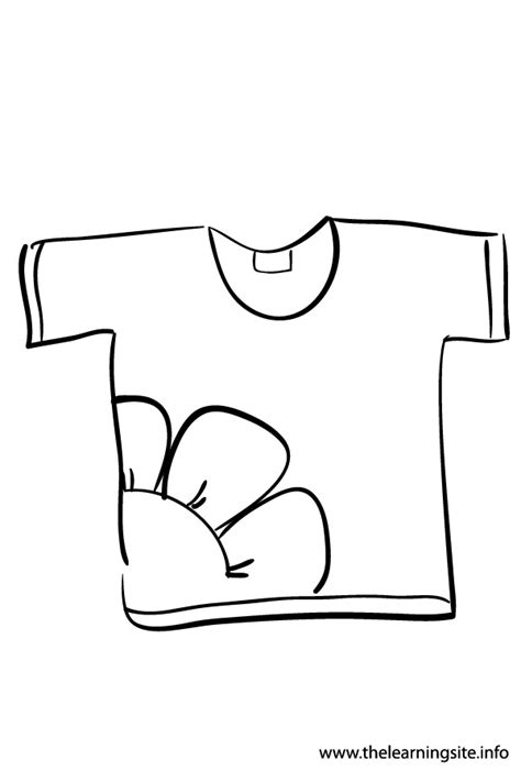 Coloring Page T Shirt by The Learning Site