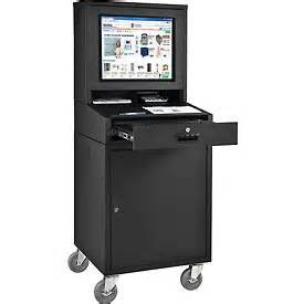 Office Supply Cabinet Computer Furniture Computer Cabinets Mobile Security