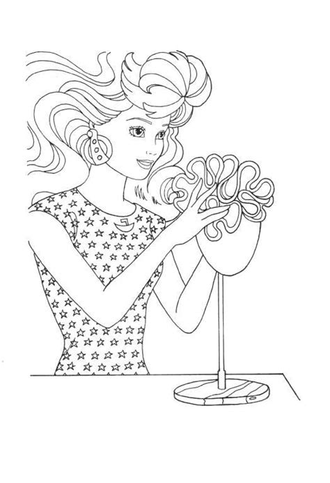 barbie head coloring pages barbie face coloring pages coloring pages