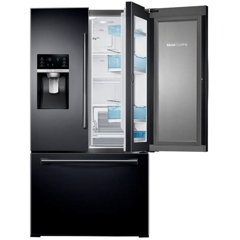 samsung black stainless refrigerators the home depot