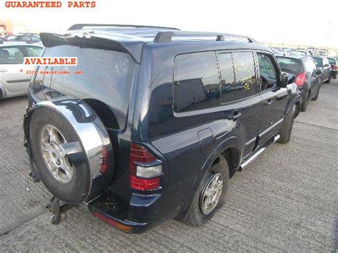 Spare Part Pajero Vs Fortuner mitsubishi pajero breakers mitsubishi pajero spare car parts