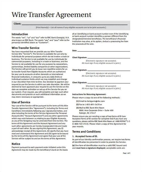 transfer agreement template 8 transfer agreement form sles free sle exle