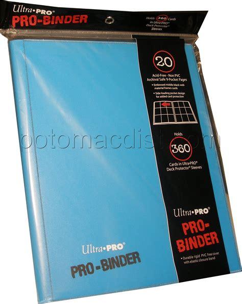 Binder Ultra Pro 9 Pocket Orange ultra pro 9 pocket pro binder light blue 6