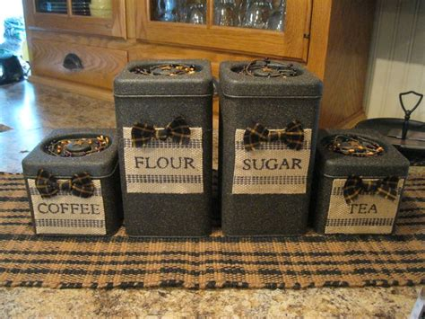 primitive kitchen canister sets 19 best primitive kitchen canisters images on pinterest