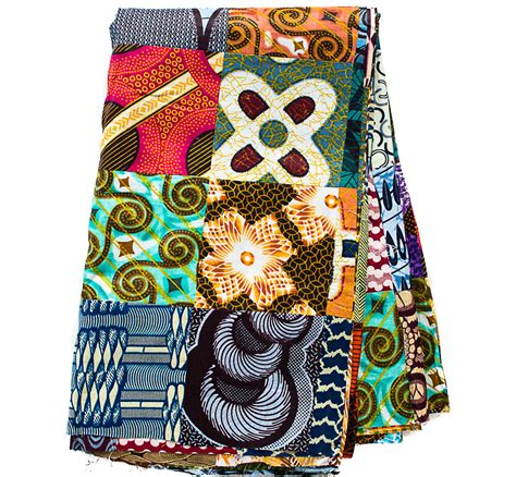 Handmade From Africa - handmade patchwork fabric from africa print fabric
