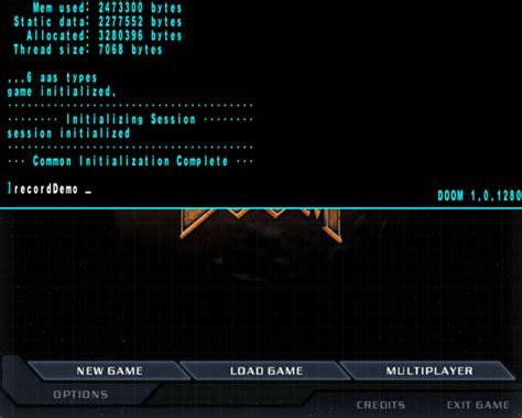doom 3 console doom 3 console tutorial mod db