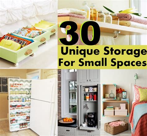 storage ideas for small spaces 30 unique storage ideas for small spaces diy home things