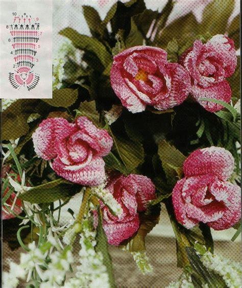 fiore uncinetto fiore uncinetto rosa magiedifilo it punto croce
