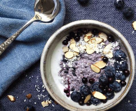 resep masakan blueberry coconut baked steel cut oatmeal