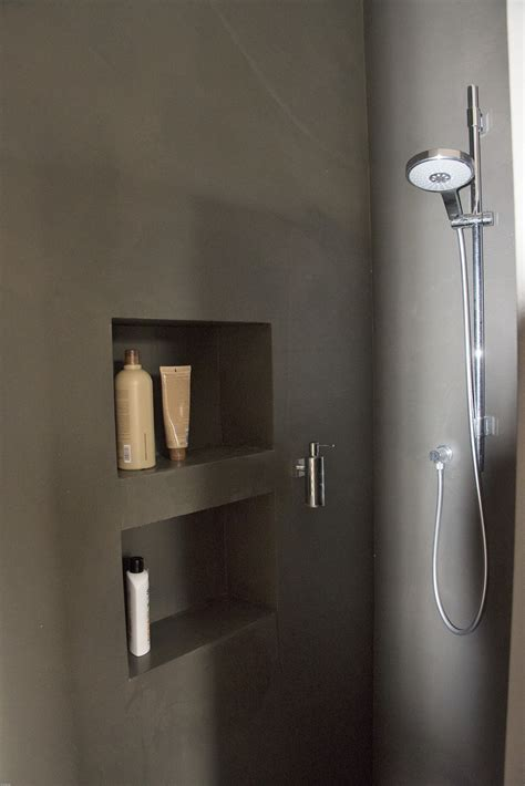 fugenlose dusche fugenloses bad in betonoptik bonn farbefreudeleben
