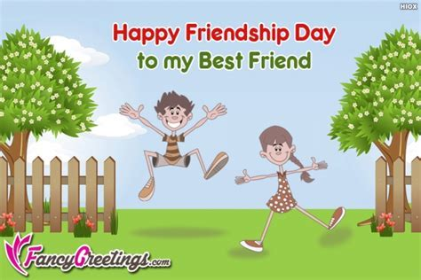 Happy Friendship Day To My Best Friend @ FancyGreetings.com