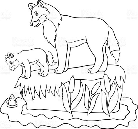 baby wolf coloring pages mickey mouse club house coloring