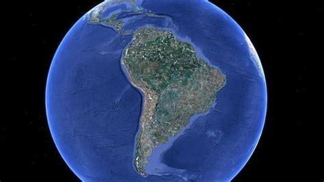 imagenes satelitales america del sur am 233 rica del sur vista por sat 233 lite abc es