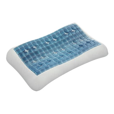 How To Sleep On A Contour Pillow by Gel Pillow Contour Ergonomic Support For Shoulder Or