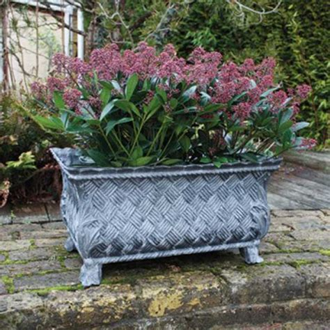 Fibreglass Garden Planters by Grp Interwoven Planter