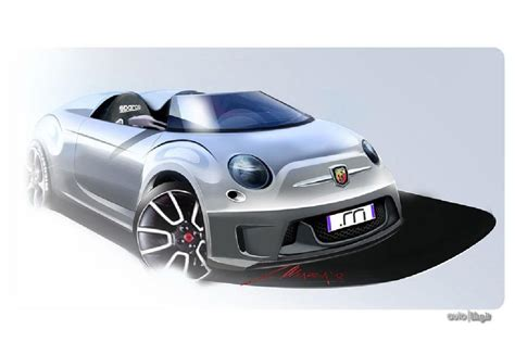 fiat roadster fiat 500 speedster and roadster imagined autoevolution