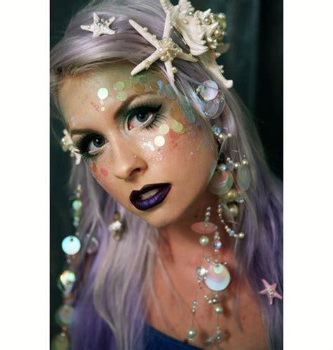 Tutorial Makeup Mermaid   halloween mermaid makeup tutorial etsy journal