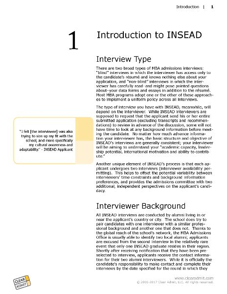 Insead Mba Application Questions by Guide Insead
