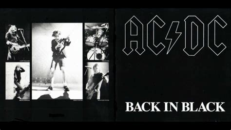 back in black acdc back in black hq audio