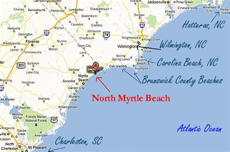myrtle florida map on real estate and hurricanes