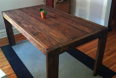 white modern farm table diy projects