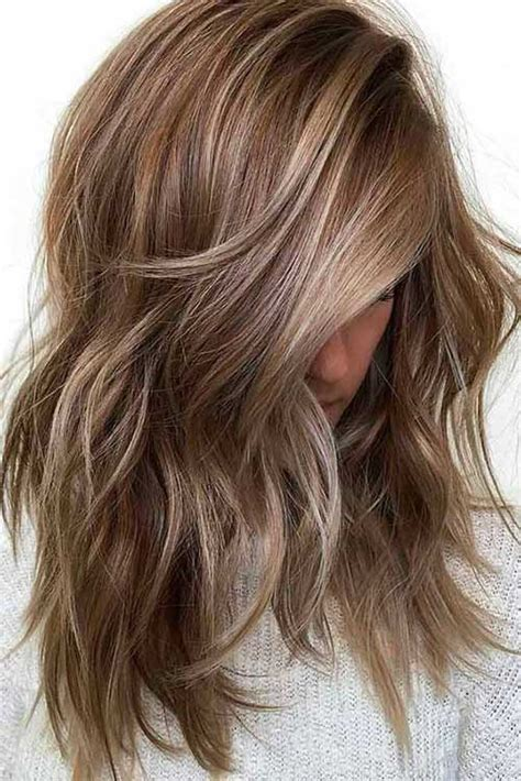 tri colored hair layer 2017 s trending layered haircuts for ladies long