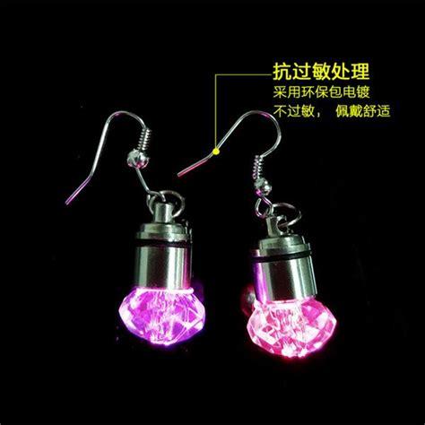 Light Up Led Earring Multi Warna led earring light pendant earrings small jewelry led earring wholesale
