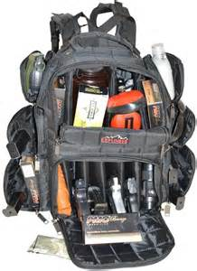 Every day carry tactical range backpack w adjustable compartments