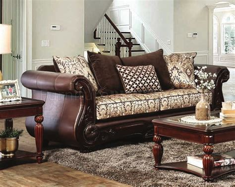 simmons zephyr vintage leather and chenille sofa chenille and leather sofa cordoba traditional faux