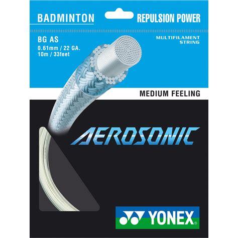 Raket Yonex Set yonex bg aerosonic badminton racket string 10m set