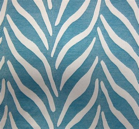 teal upholstery fabric animal print fabric by