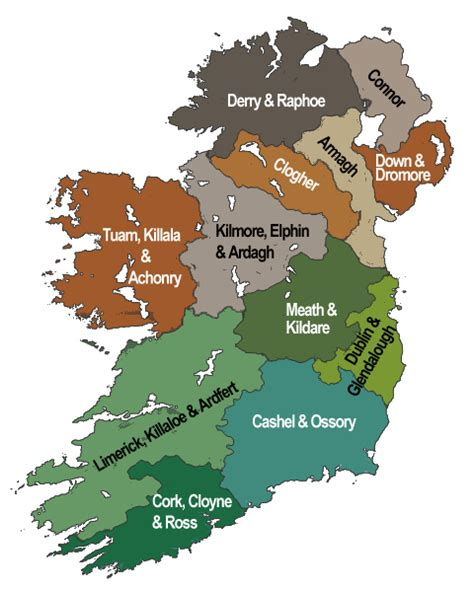 File Dioceses Of The Church file dioceses of the church of ireland png wikimedia commons