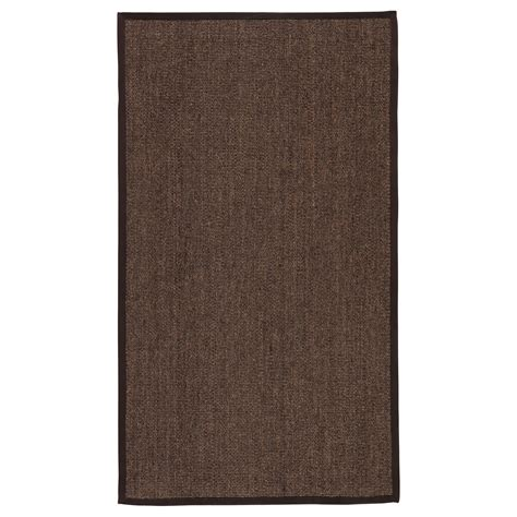 Osted Rug Flatwoven Brown 80x140 Cm Ikea Ikea Rugs