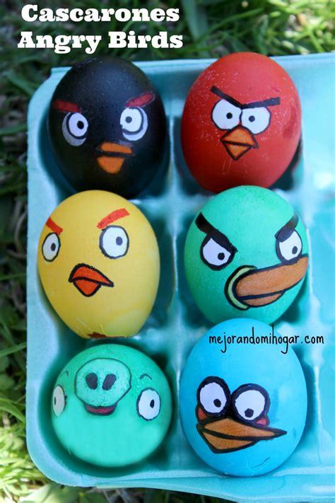 decorar mi huevo como pintar huevos de pascua de angry birds mejorando mi