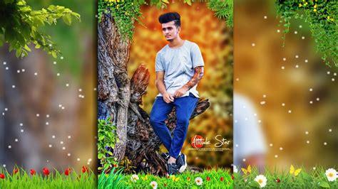 tutorial edit background picsart natures photo editing tutorial in picsart editing bunty