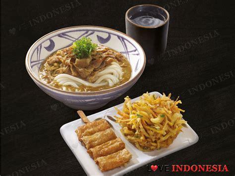 Baru Mie Shirataki marugame udon tempura pertama telah hadir di jakarta indonesia